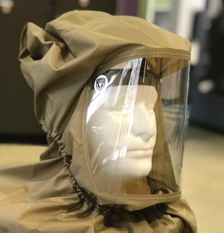 Badger Shield Powered Air Purifying Respirator (PAPR) Hood