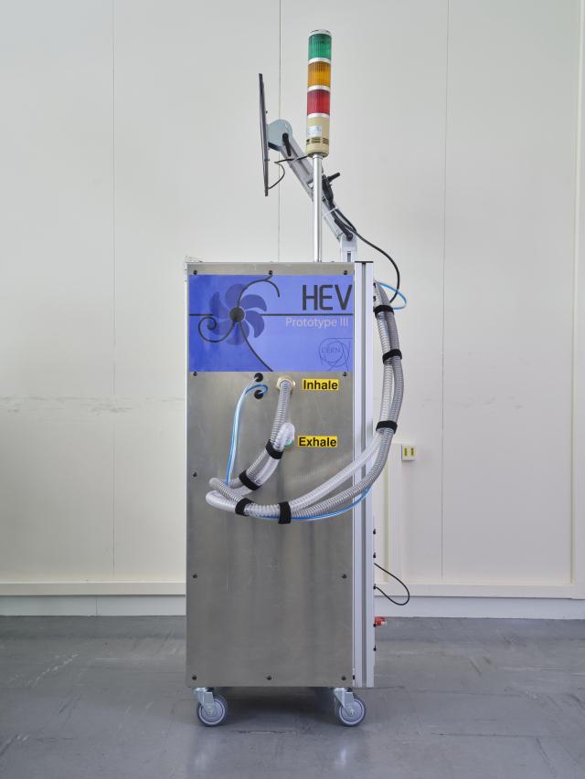 HEV ventilator