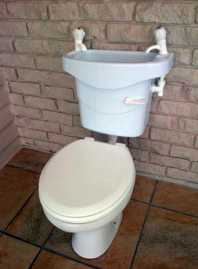 Eco-Loo Toilet basin system