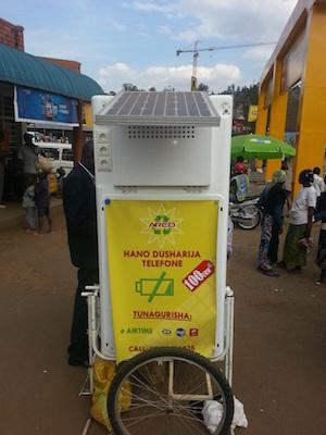 Mobile Solar Kiosk