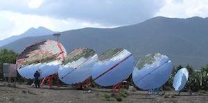 Solar Reflectors type Scheffler