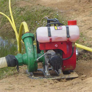 Low-cost pump set