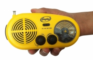 Freeplay Assist Solar Wind-Up Radio, Flashlight & Charger