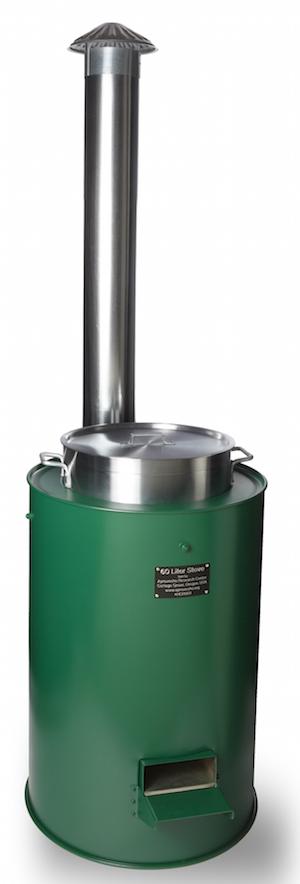 60 Liter Biomass Cookstove