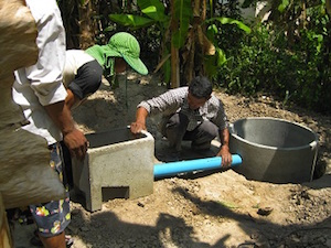 Cambodia Easy Latrine