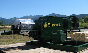 Strawjet Building Structure