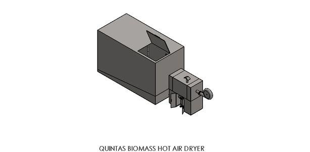 Quintas Biomass Dehydrator